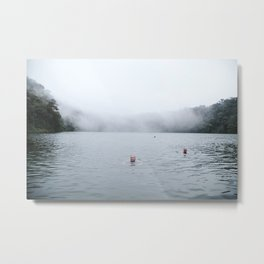 Volcano swims Metal Print