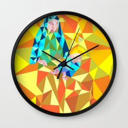 The Manger III Wall Clock