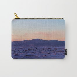 Mountain Sunset in the winter Carry-All Pouch