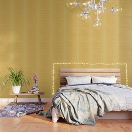 Faded yellow circles pattern Wallpaper