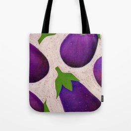 Eggplant Fun Tote Bag