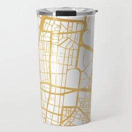 SYDNEY AUSTRALIA CITY STREET MAP ART Travel Mug