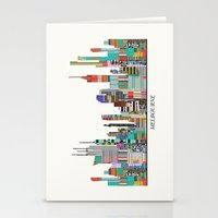 melbourne Stationery Cards featuring Melbourne by bri.buckley