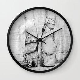 Beauty Is Pain Wall Clock