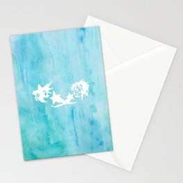 Kingdom Hearts Watercolor Stationery Cards