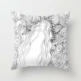 Lord bless my soul Throw Pillow