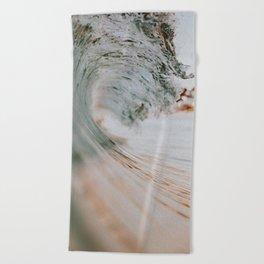 summer waves xiii Beach Towel