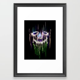 Face Illustration 4 Framed Art Print