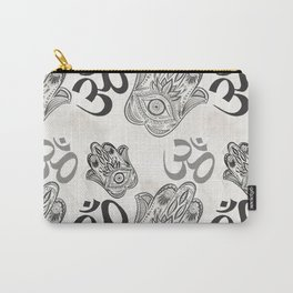 Hamsa Yoga Pattern Carry-All Pouch