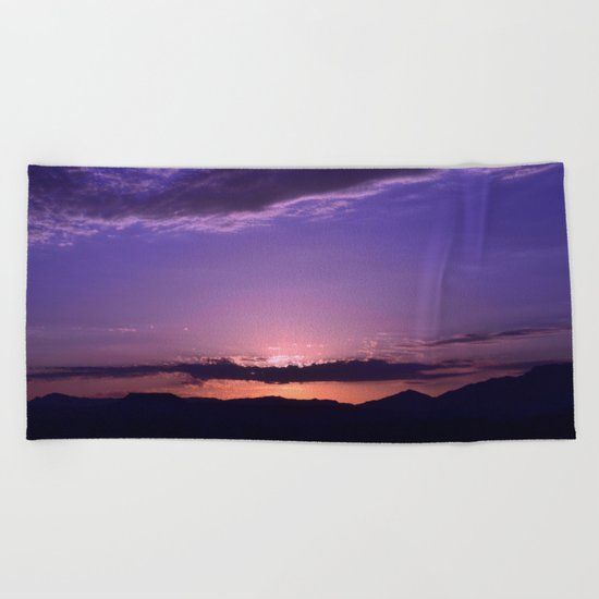 Southwest Sunrise - IV Beach Towel