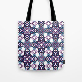 Don't Be Cross- Purple Hues Tote Bag