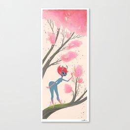 Spring Sprite Canvas Print
