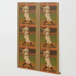 VINTAGE BACKYARD BASEBALL PLAYER - BRIDWELL NY Wallpaper