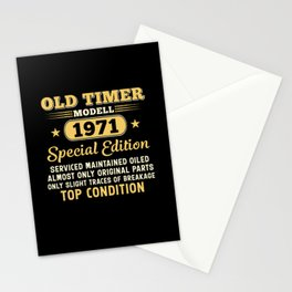 Old Timer Modell 1971 Special Edition Funny Stationery Cards