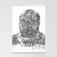 hemingway Stationery Cards featuring Hemingway by The New Minimalist