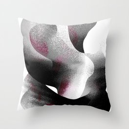 The Embrace 01 Throw Pillow
