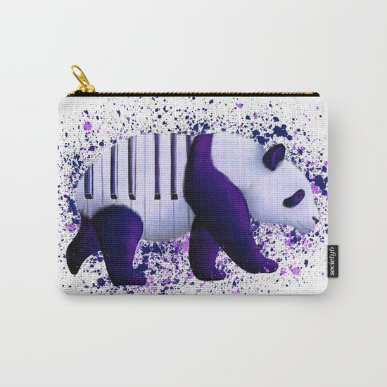 Piano Panda Carry-All Pouch