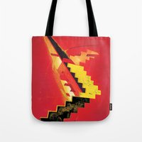 revolution Tote Bags featuring Revolution by Andrej Balaz