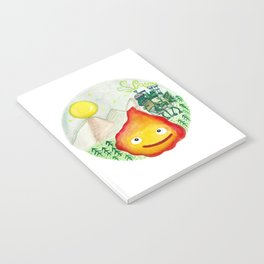 Howl's Moving Castle - Calcifer Notebook