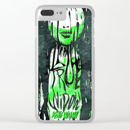 True Widow and King Woman — Live in Berlin 2017 Clear iPhone Case
