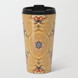 Michaelangelo Turtle Mandala Travel Mug
