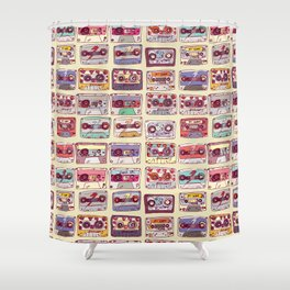 Nobody's records Shower Curtain