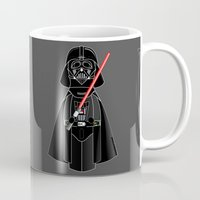 darth Mugs featuring Kokeshi Darth  by Pendientera