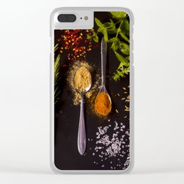 Sugar and spice, and all things nice Clear iPhone Case
