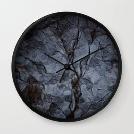 Reflected Tree 1 Wall Clock