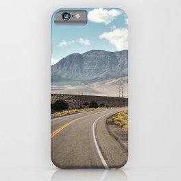American Roadtrip. Utah State Highway, United States of America. Fine Art Travel Print. Wall Art. iPhone Case