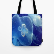 Blue Jelly Tote Bag