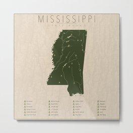 Mississippi Parks Metal Print