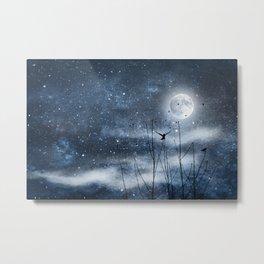 Call of the moon Metal Print