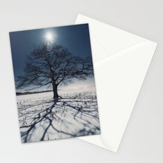Winter Shadows Stationery Cards