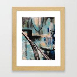 Blue Part 1 Framed Art Print