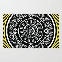 Modern Mandala Rug