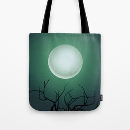 Halloween Moon Phases Wall Art Tote Bag