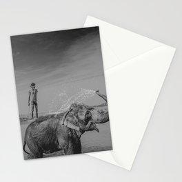 Nepali elephant Stationery Cards