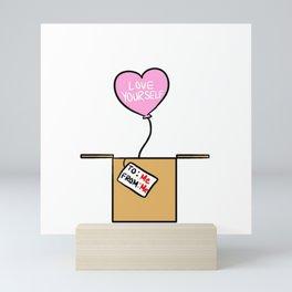 Love Yourself Gift Mini Art Print