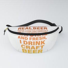 Craft Beer Beer Lover Ipa Beer Microbrewing Fanny Pack