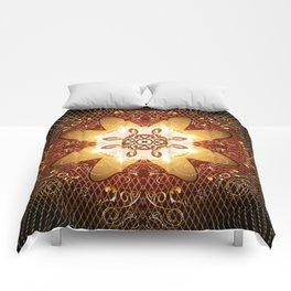 Elegant, decorative kaleidoskop Comforters