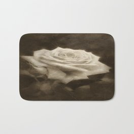 Pink Roses in Anzures 3 Antiqued Bath Mat
