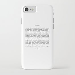 Chances iPhone Case