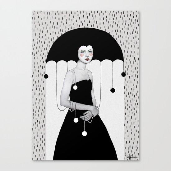 Rainy Minta Canvas Print