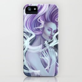 Essentia Spiritu Digital Painting iPhone Case