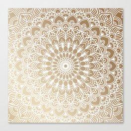Gold Mandala 19 Canvas Print