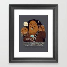 chews Framed Art Print