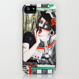 Checkmate in the park iPhone Case