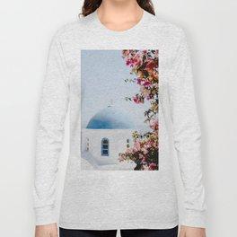 Santorini, Greece Long Sleeve T-shirt