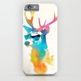 Sunny Stag iPhone Case